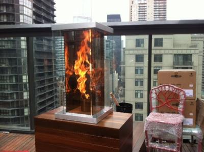 VortexFires.com   Moderustic   Patented FireGlass, Aquatic Glassel ...