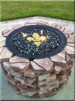 outdoor propane fire bowl