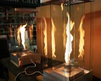 VortexFires.com | Moderustic | Patented FireGlass, Aquatic Glassel ...